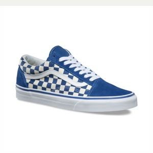 Vans Shoes   Blue Primary Check Old